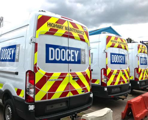 new, vehicle, fleet, doocey, group