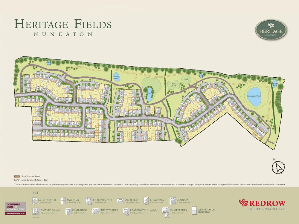 redrow, heritage, fields, nuneaton, multi, utilities