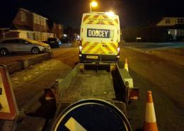 doocey, traffic, management, utilities, christmas, water, electric, repairs