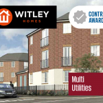 contract, awarded, whitley, homes, multi, utilities, doocey, group
